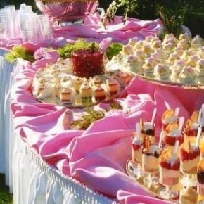 Свадебный кейтеринг: организация, оформление, проведение