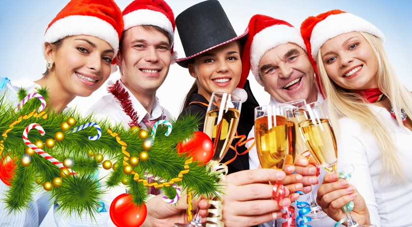 Новогодние фуршеты и банкеты!